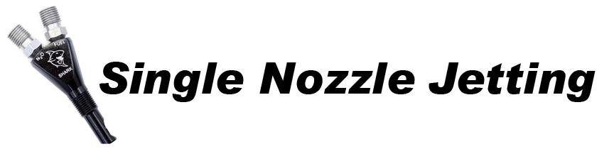 Single Nozzle Jetting